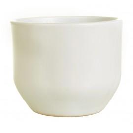Osłonka Ø 11 cm ceramiczna kremowa 601/10-11.7