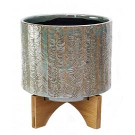 Osłonka z drewnianym stojakiem Ø 12 cm J07-06