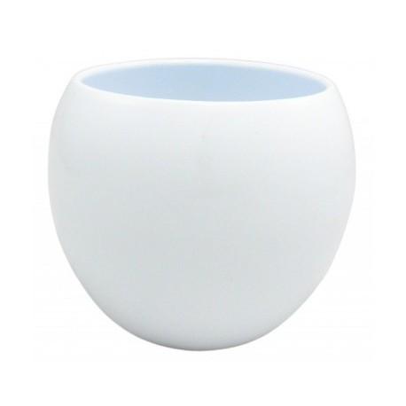 Doniczka -osłonka ceramiczna kula 14 cm