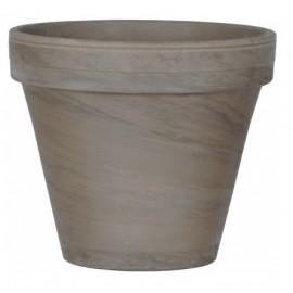 Doniczka Ø 15 cm terakota BAZALT 13.6-15.5