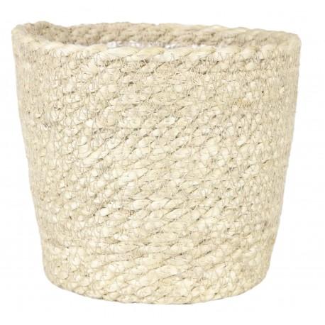 Osłonka- koszyk jutowy Ø 14 cm