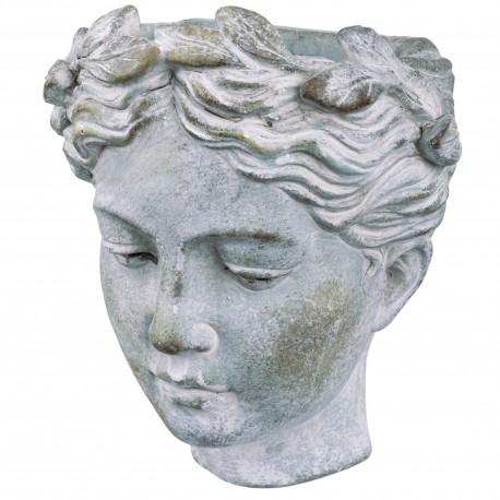 Osłonka GŁOWA Ø 10 cm rzeźba DO ZAWIESZENIA 131018