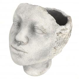 Osłonka GŁOWA Ø 11 cm rzeźba TWARZ- ciemna 116126