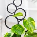 Podpora do roślin pnących, BĄBELKI rozmiar M -czarna 2.2
