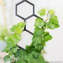 Podpora do roślin pnących, PLASTER MIODU rozmiar S -czarna 1.1