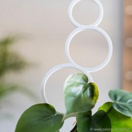 Podpora do roślin pnących, BĄBELKI rozmiar S -biała
