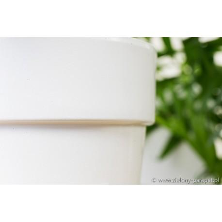 Osłonka Ø 13 cm Z USKOKIEM biała