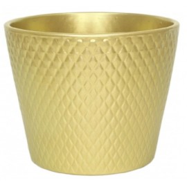 Osłonka Ø 12 cm ARLEKIN złota 490-12-057/9-11.5
