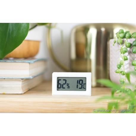 Higrometr + termometr - niezbędny w uprawie roślin