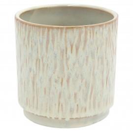 Osłonka ceramiczna Ø 8 cm NATURAL GREEN 201601