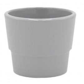 Osłonka Ø 7 cm ceramiczna z uskokiem SZARA 501/6-7