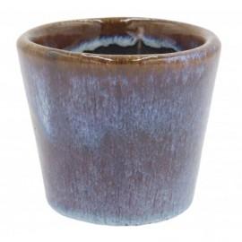 Osłonka ceramiczna Ø 9 cm GRANATOWA 201229