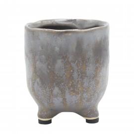Osłonka ceramiczna Ø 6 cm BRĄZ na nóżkach 218850