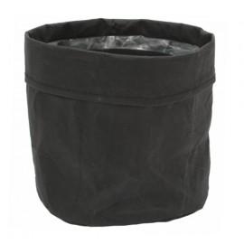 Osłonka Ø 15 cm PLANTBAG czarna 0011700213