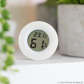 Higrometr + termometr OKRĄGŁY- baterie w zestawie