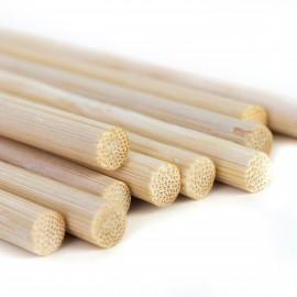 Palik bambusowy sadowniczy ZESTAW, podpora do roślin pnących