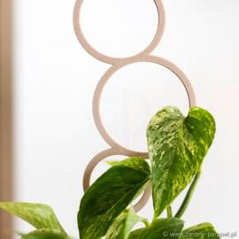 Podpora do roślin pnących, BĄBELKI rozmiar S - wood 1.3