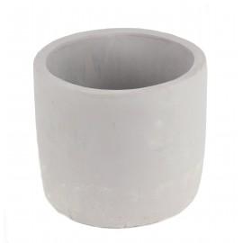Osłonka cylindryczna szara Ø 14 cm