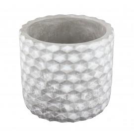 Osłonka cylindryczna BETON biało-szary 05.145.14 Ø 14 cm