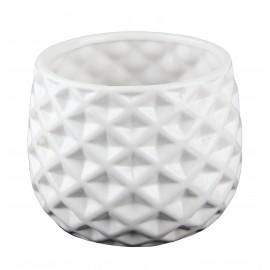 Osłonka ceramiczna Ø 14 cm żłobiona kula 39.052.16