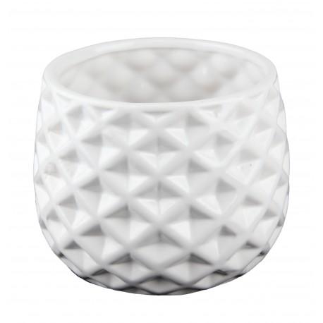 Osłonka ceramiczna żłobiona kula Ø 13 cm