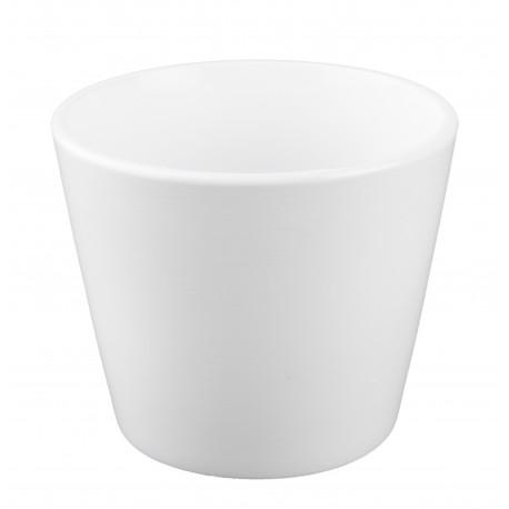 Osłonka ceramiczna biała Ø 12 cm