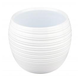Osłonka Ø 10 cm ceramiczna pręgowana kula 662/11.5-13