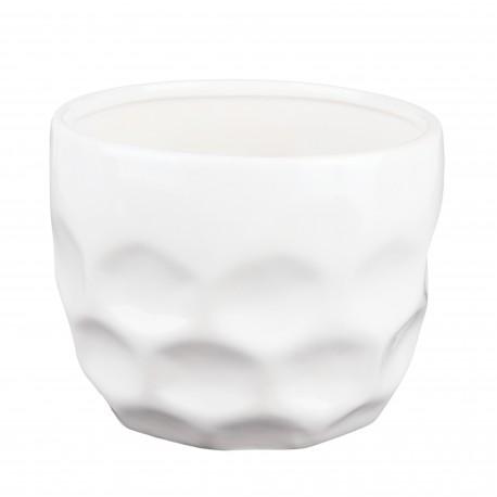 Osłonka biała- plaster miodu 15.002.12 Ø 10 cm